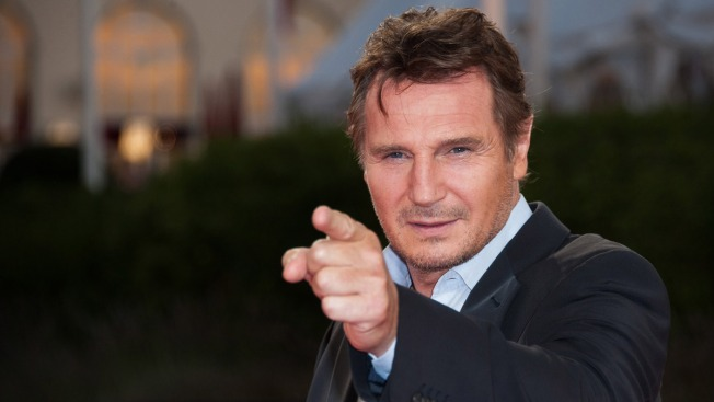 It Worked! Sandwich Shop Free Food Gimmick Lures Liam Neeson for Visit