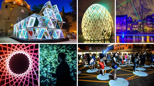 PHOTOS: Stunning 'Light City' to Illuminate Baltimore's Inner Harbor