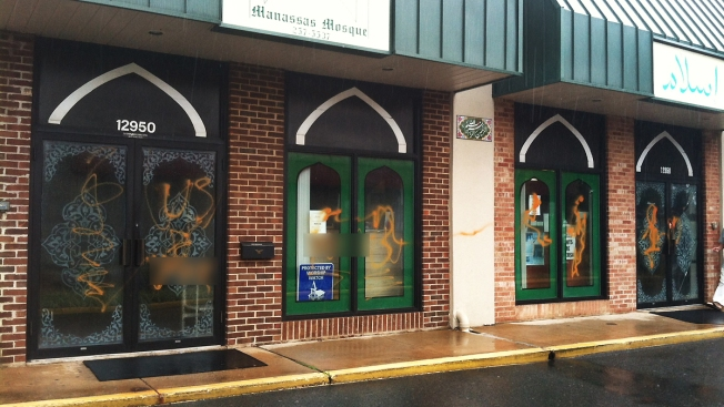 Manassas Mosque Vandalized; Civil Rights Group Wants FBI to Investigate