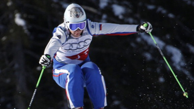 Russian Skicross Racer Breaks Spine