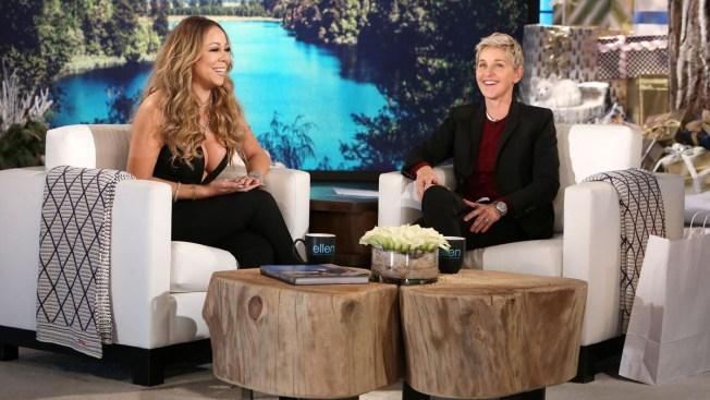 Mariah Carey Dishes on Engagement and Split During Ellen Visit