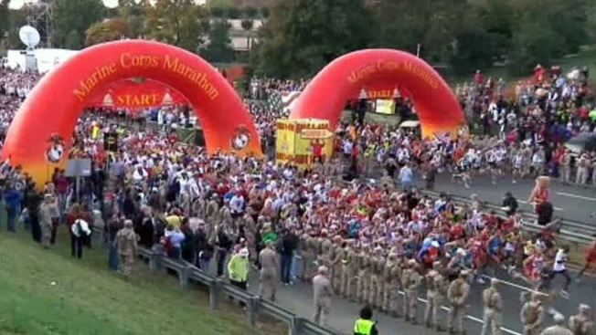 FROM 2013: Arlington Renames Street for Marine Corps Marathon