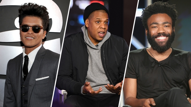 For the 1st Time in History, No White Men Are Up for Album of the Year at the Grammys