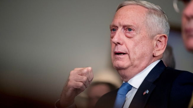 Mattis: Trump Says Defense Chief's Job '100 Percent' Safe