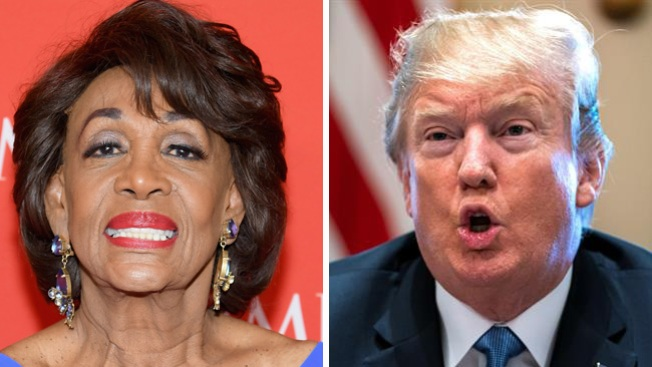 Trump Warns Rep. Maxine Waters: 'Be Careful What You Wish For'