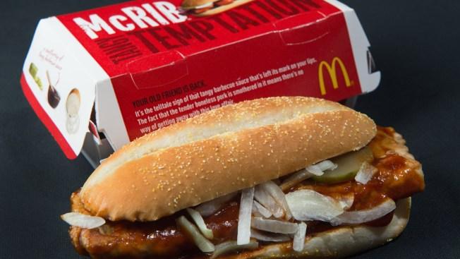 McDonald's Is Bringing the McRib Back