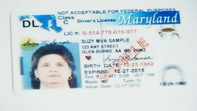 Make of motor vehicle maryland learners permit