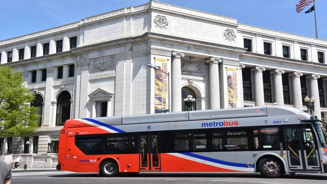 Metrobus Temporarily Cancels 20 Trips in Northern Virginia