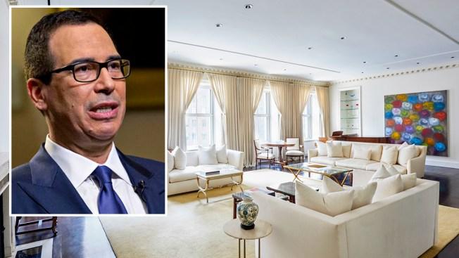 Treasury Secretary Steven Mnuchin's Manhattan Home Hits Market for $32.5 Million