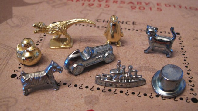 Rubber ducky, T-Rex, penguin named new Monopoly pieces
