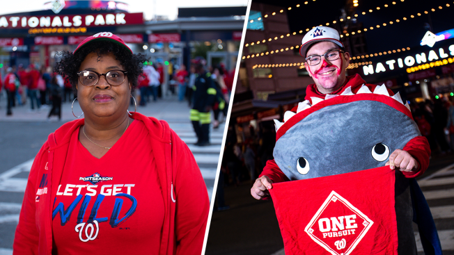 Photos: Nats Fans Show Their Pride and Share Their Stories