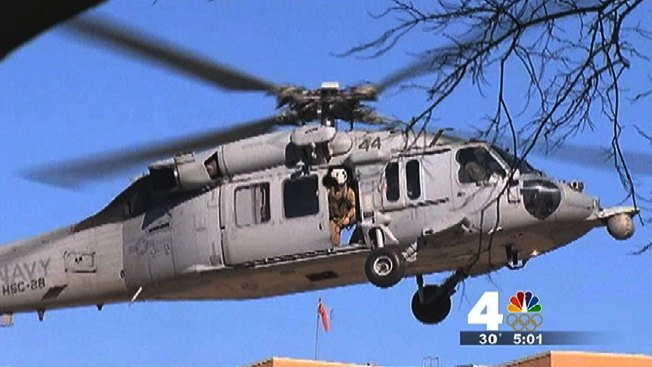 Victims Identified in Navy Chopper Crash; Search for Missing Man Suspended