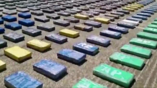 8 Tons of Cocaine Seized in Colombia