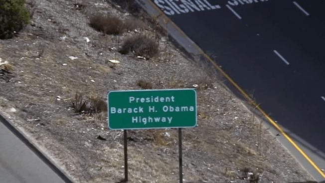 Stretch of SoCal Freeway Renamed for Barack Obama