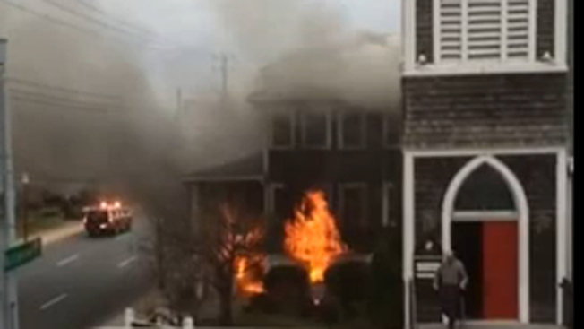 Fatal Ocean City Church Fire Started By Man Who Set Self Ablaze