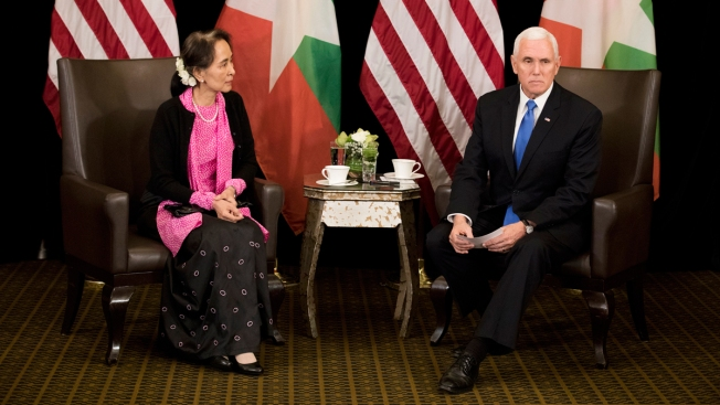 Pence Says Myanmar's Handling of Rohingya Is 'Without Excuse'