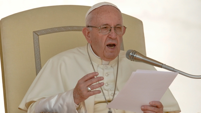 Pope Laments Abuse in 1st Post-Bombshell Vatican Appearance