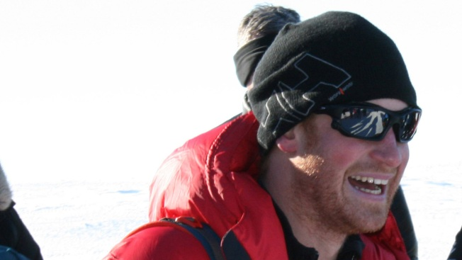 Prince Harry Takes Early Lead in South Pole Trek