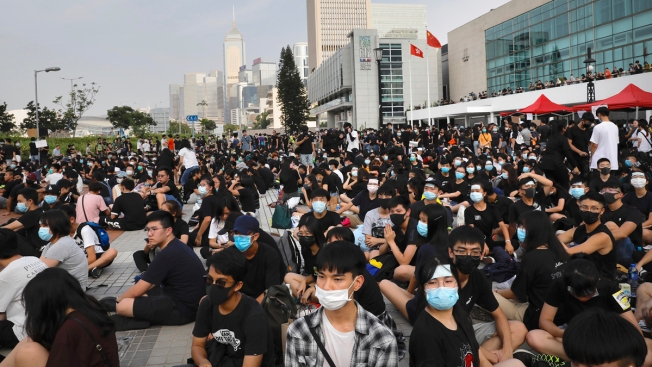 Hong Kong High Schoolers Rally as More Protests Planned