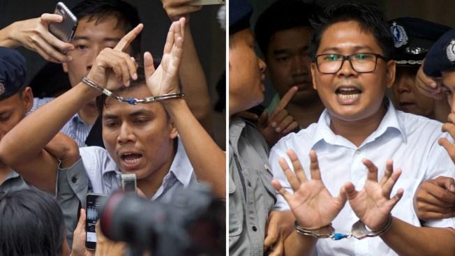 Myanmar Court Hears Appeal of Convicted Reuters Journalists