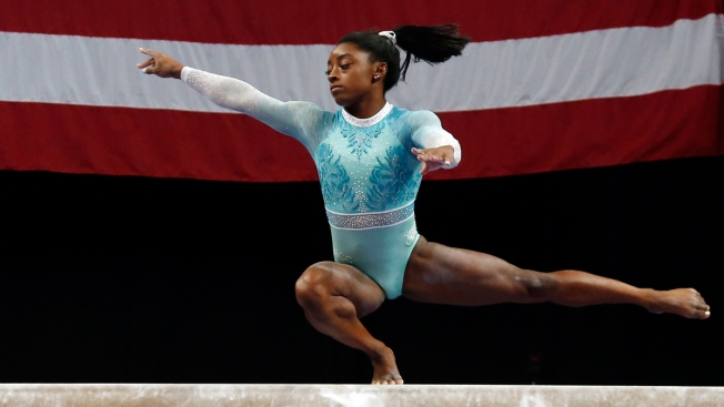 Simone Biles Dresses 'for the Survivors' While Winning 5th US Title