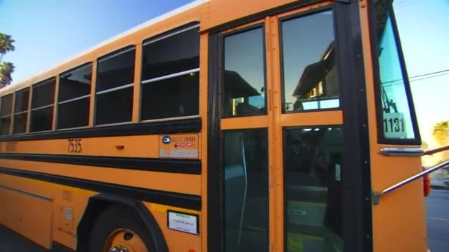 4 Empty School Buses Catch Fire in Parking Lot