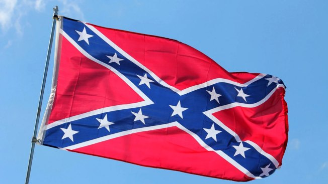 Large Confederate Flag Raised Near Charlottesville, Virginia