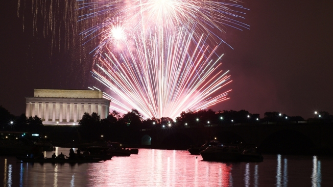 National Mall Fireworks: Find Public Access Points; See Prohibited Items