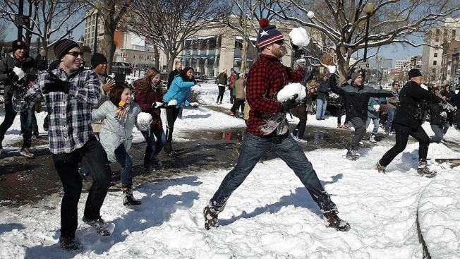 Dupont Circle Snowball Fight Set for Sunday Morning
