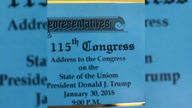 Make America Great Agaim: Union Misspelled as 'Uniom' on Trump Speech Tickets