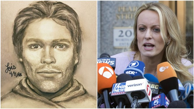 Stormy Daniels Reveals Forensic Sketch of Man She Says Threatened Her Over Alleged Trump Affair