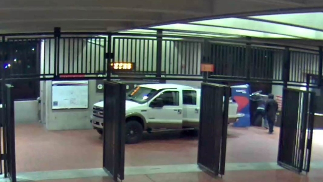 Thieves Ram ATM at Metro Station, Pack It Into Bed of Stolen Pickup, Officials Say