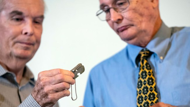 Returned Korean War Dog Tag Belonged to Army Medic