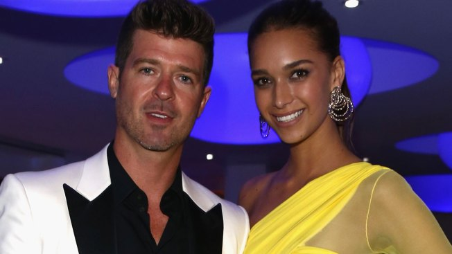 Robin Thicke expecting a baby with girlfriend April Love Geary