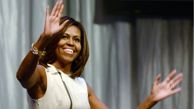 Michelle Obama Stumps for Brown in Maryland