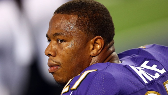 Ex-Coach Voices Support as Ray Rice Attends High School Football Game