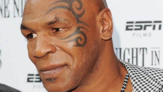 Mike Tyson Rushes to Motorcyclist's Rescue After Las Vegas Crash