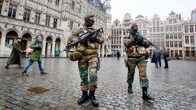 Attacker Shouts 'Allahu Akhbar,' Wounds 2 Police Officers in Belgium