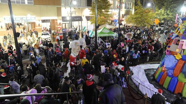 Silver Spring Re-Imagines the Christmas Tree at Downtown Lighting Celebration