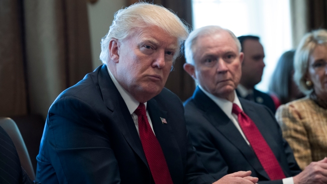 Trump Says of Sessions: 'I Don't Have an Attorney General'