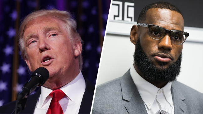 Trump Passes on Opportunity to Criticize LeBron James at Ohio Rally
