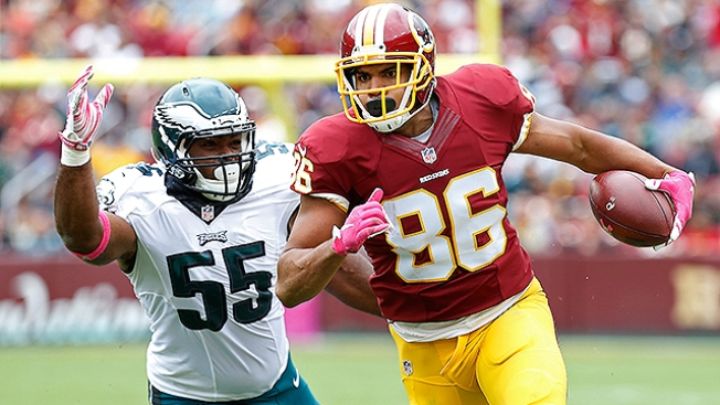 Tight End Jordan Reed Back From Toe Injury, Practices With Redskins
