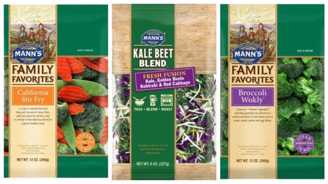 Mann Packing Co., Inc. Recalls Vegetable Products Sold in the U.S. and Canada Due to Potential Health Risks