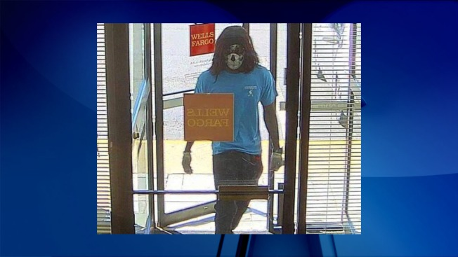 Masked Man Wanted in Bank Robbery: Police