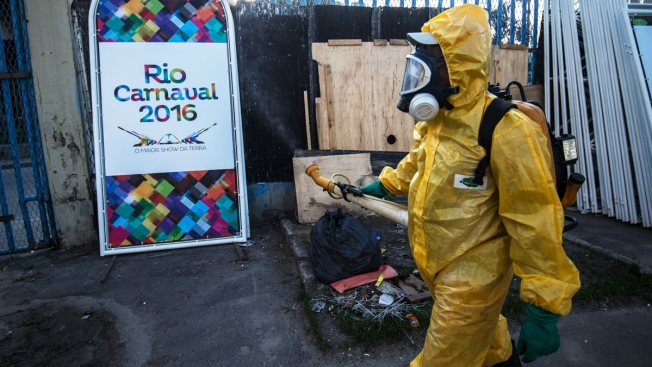 Brazil Sprays for Mosquitoes as Zika Fears Threaten Carnival
