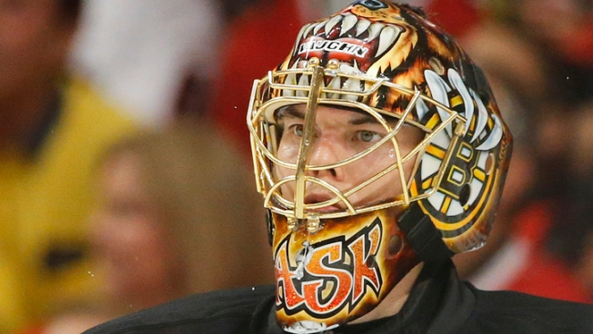 Rask Too Tough for Chicago in Boston's 2-1 OT Win
