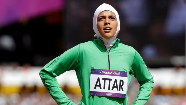 Attar Makes Olympic Track Debut for Saudi Women
