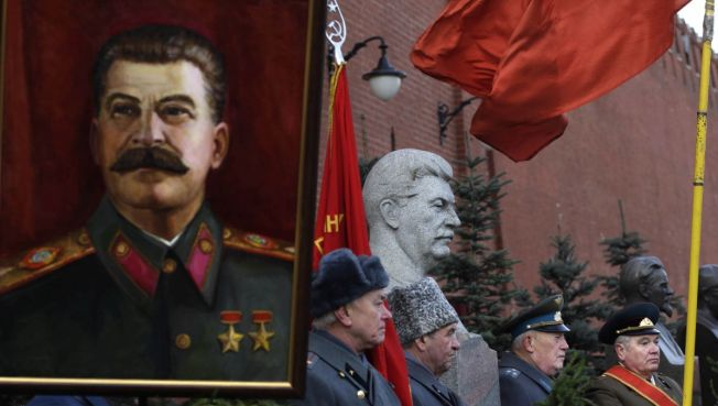 Stalin or Bust at D-Day Memorial