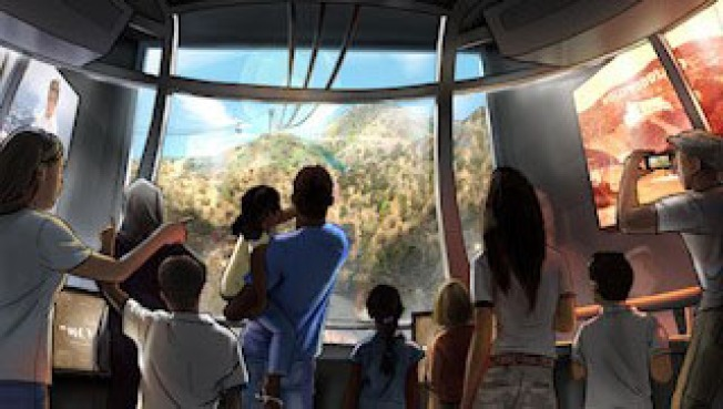 Warner Bros. Proposes $100 Million Aerial Tram to Hollywood Sign