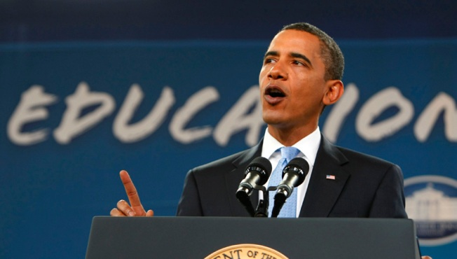 President Obama at D.C. Public School
